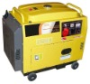 Big Fuel-Tank Silent Diesel Generator Set