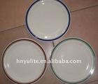 2012 Hot porcelain plate, ceramic plate