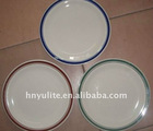 2012 Hot porcelain plate, ceramic plate