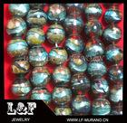 colorful murano glass focal beads