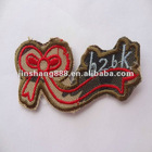 Manufacturers selling fashionable embroidery patches for ladies