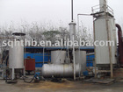 The vacuum used engine oil distillation equipment