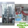 Lot#: K2080001 stocks PVC bath curtain
