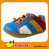 Stylish popular good price leather kids casual shoe
