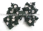 acrylic beads bow, costume ornament, headwear ornament