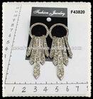 alloy diamond fashion earrings F43820