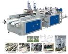 RT-TS-400X2 automatic double lines t-shirt bag making machine