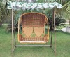 Two-seats Rattan Swing Hanging Chair (6028)