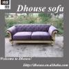 Mediterranean Style Fabric sofa with resin arm AL187