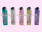Flint Disposable lighter colorful translucent body