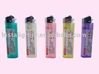 Flint Disposable lighter colorful translucent body