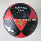 size 5 flat football laminated soccer ball