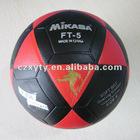 size 5 flat football laminated soccer ball