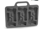 2012 Eco-friendly Pop Pistol Design Silicone Ice Cube Tray
