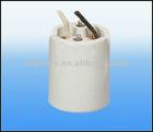CE and VDE ceramic bulb holder e40