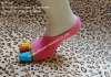 colourful jacquard toes cotton socks,5 toes socks