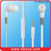 earphone for iphone with volume controling