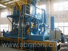 Shot Blasting Machinery with roller conveyors