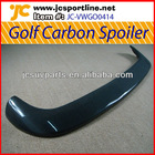 Carbon golf IV car spoiler rear spoiler roof spoiler for VW