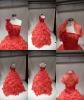 Red wedding jacket 98203A