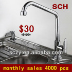 2012 TOP SALE Cheap Kitchen Faucets For Promotion Use 95002CP