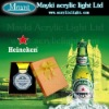 LED Acrylic Small Gift for Heineken's promotion