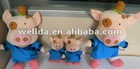 Little pig animal plush toy