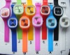 2012 Stylish new! 30 colors silicone watch,customized logo are welcomed,