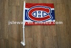 Hockey Team polyester print car flag