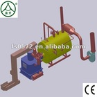 New Biomass Gas Boiler without pollution