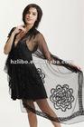 Fashion, 100% silk chiffon Lady scarf/ shawl