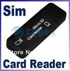2 In 1 USB TF/ Sim card reader