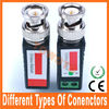 UTP CAT5 cable transceiver different types of connectors