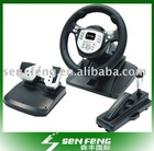 for PS3/ps2/pc 3IN1 game racing wheel