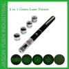 5 in 1 Green Laser Pointer