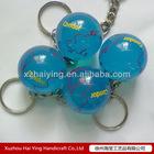 Unipue resin globe keychain