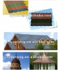 COLORFUL STONE-COATED METAL ROOF TILE
