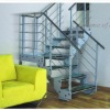 stainless steel corner stair