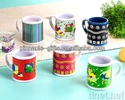 ABS+PVC 3D mug cup for family cups