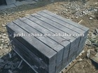 Small gray paving cube stone
