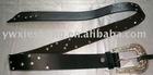 Fashion Lady diamond PU belt for accessories