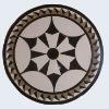 beautiful artificial marble medallion mosaics
