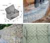 hot dip galvanized pvc coated gabion box