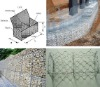 hot dip galvanized pvc coated gabion box