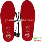 2012Blite Intelligent temperature-control electric heated insoles/heating insoles/heated insole foot warmer
