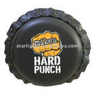 Inflatable PVC beer cap