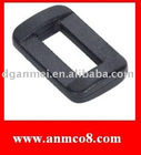 Plastic square buckle