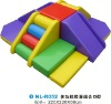CE Indoor soft play slide set