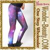 Polyester women galaxy fashion legging