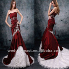 MODERN STYLE STRAPLESS MERMAID SATIN WEDDING DRESS BEST-1143